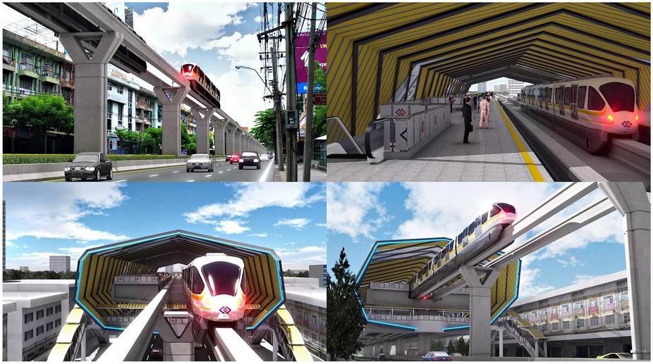 สายสีเหลืองสถานีพัฒนาการ