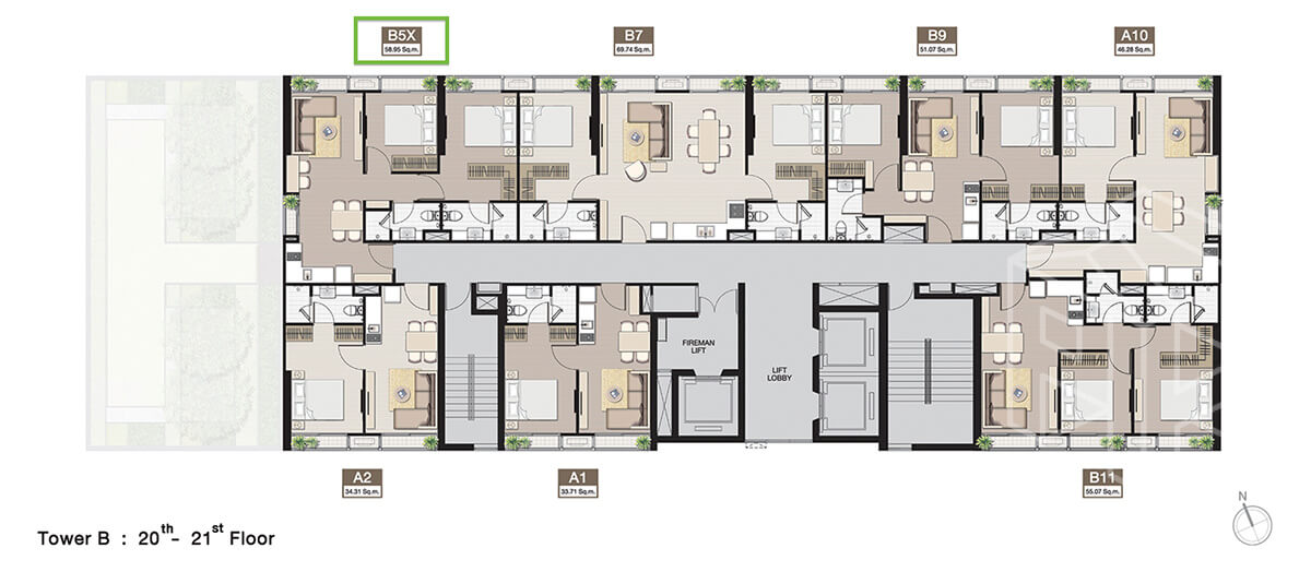 TowerB_FloorPlan_20-21fl
