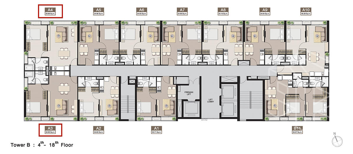 TowerB_FloorPlan_4-18fl